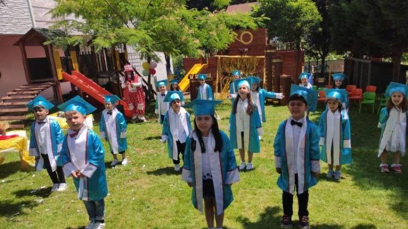 Kumlu Kreş mezunlarını uğurladı