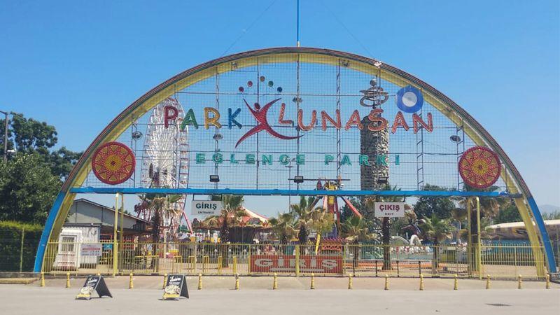 Bayram'da Lunapark keyfi