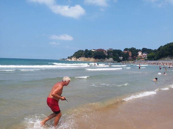 Kandıra sahillerinde denize girmek yasak