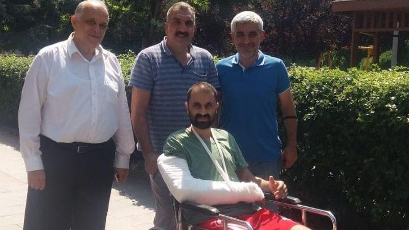 Mustafa Gürsu hastaneden çıktı