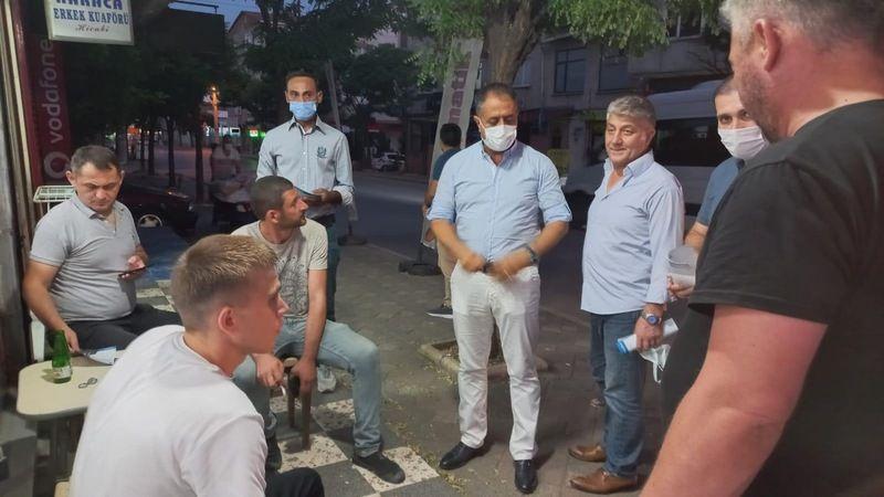 DEVA Partisi Gebze'de esnafla buluştu