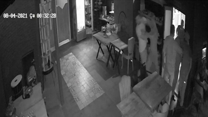 İzmit'i sarsan cinayetin kamera görüntüleri