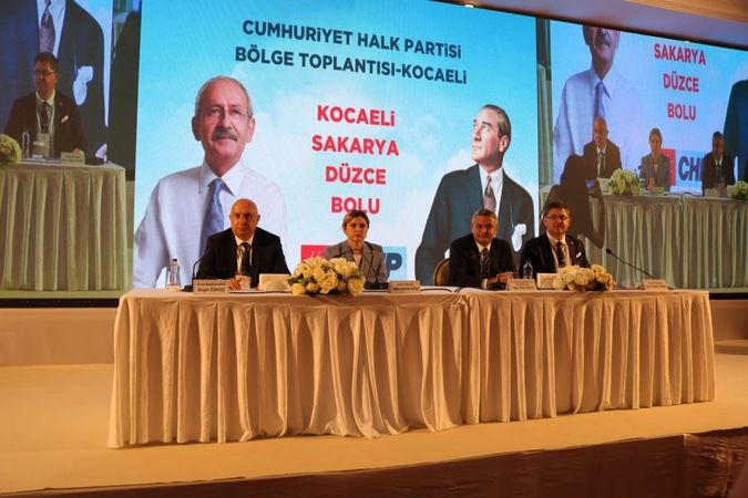 CHP Marmara Bölge Toplantısı Kocaeli'de yapıldı