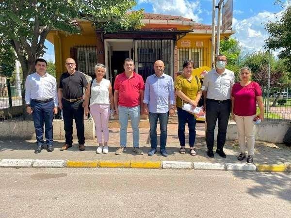 """CHP Körfez'den """"Can Muhtar"""" ziyareti"""