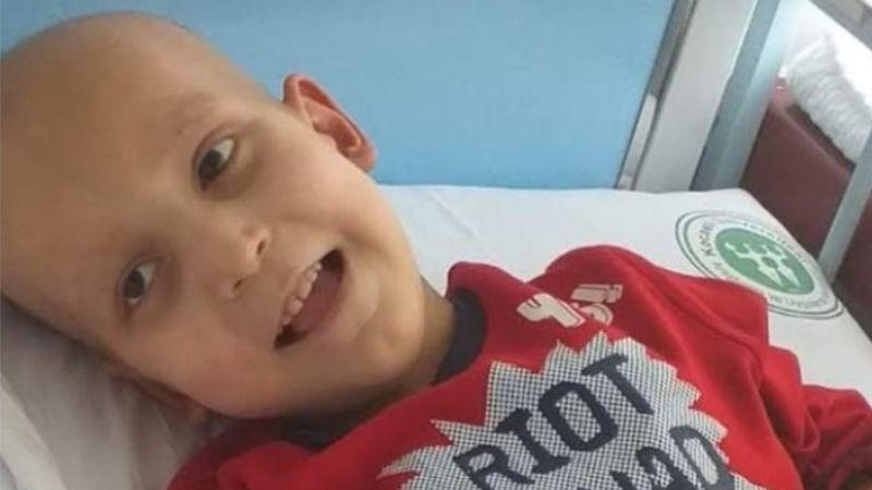 7 yaşında kansere yenildi
