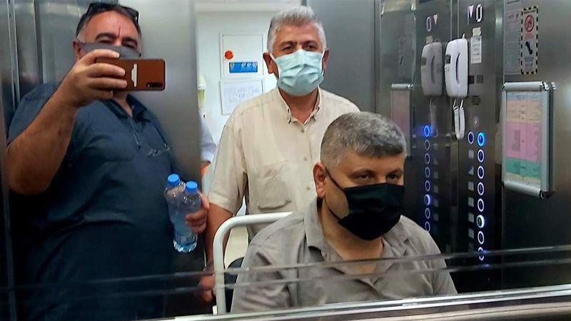 Esnaf odası başkanı hastanede