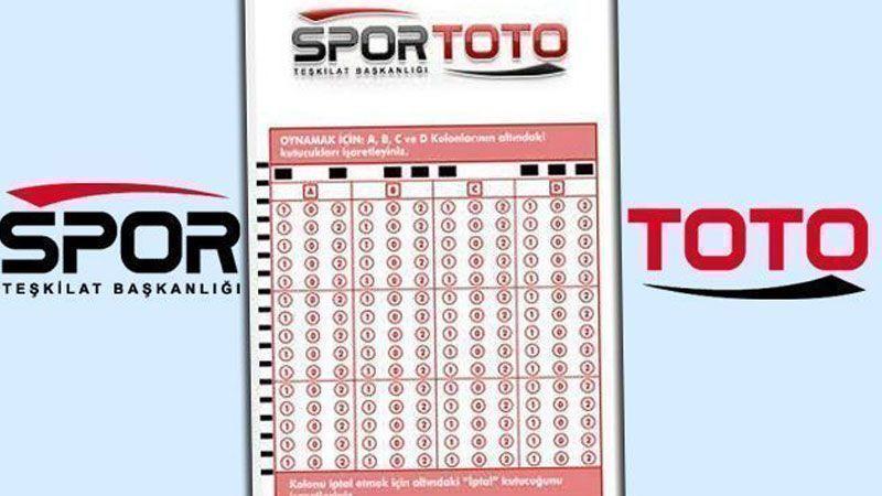 SPOR TOTO'da1 kişi 1.9 milyon kazandı