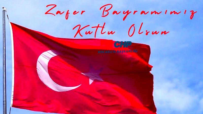 CHP Kocaeli'nin Zafer Yürüyüşü bu yıl Gebze'de
