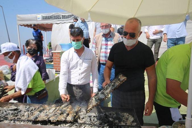 6 bin kişiye balık-ekmek ikram edildi