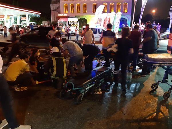 Körfez'de KAZA: 7 yaralı