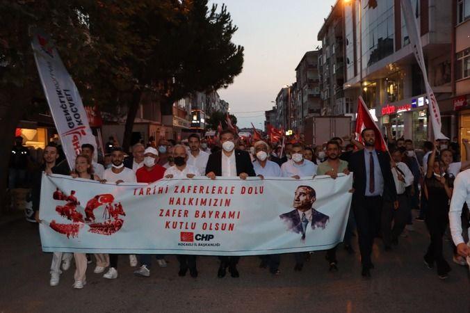 30 Ağustos Gebze'de coşkuyla kutlandı
