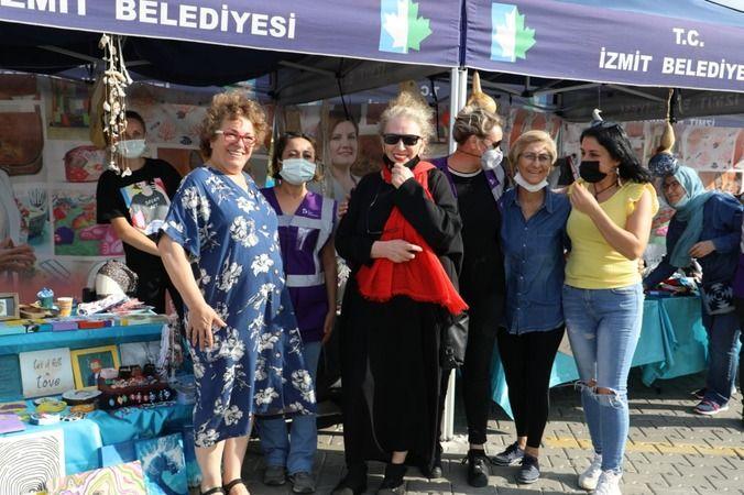 Kadın Festivali'nin son günü de rengarenk