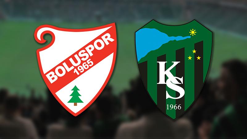 Kocaelispor ile Boluspor 21. kez karşılaşacak