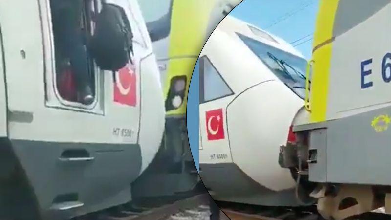 Adapazarı treni YHT'ye çarptı