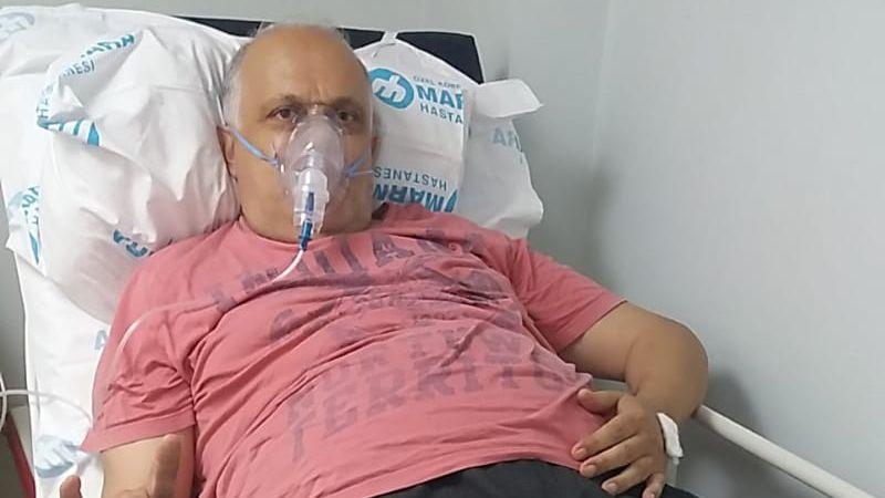 Zeki Gürsu hastaneye yattı