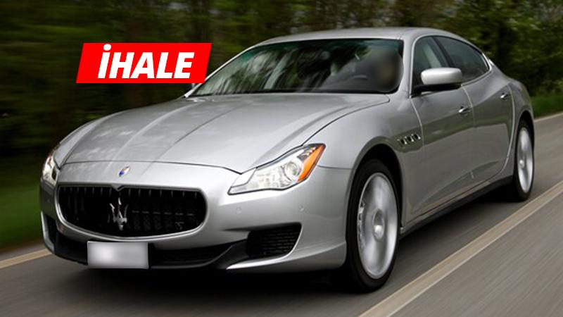 Kocaeli'de Maserati icradan SATILIYOR