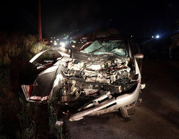 Otomobil tankere çarptı: 3 yaralı