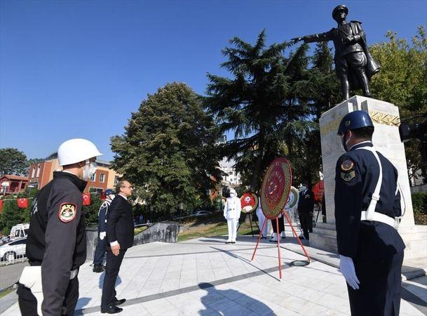 Kocaeli'de 19 Eylül Gaziler Günü törenle kutlandı