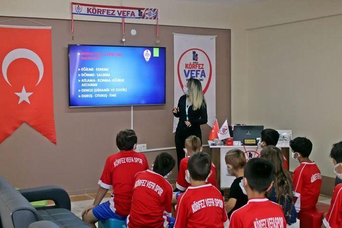 Genç sporculara profesyonel destek