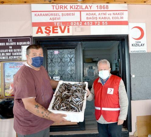 3 ton balık ihtiyaç sahiplerine dağıtıldı