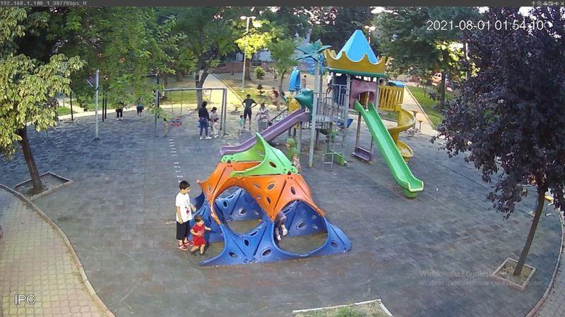 Çocuk parkları artık izleniyor