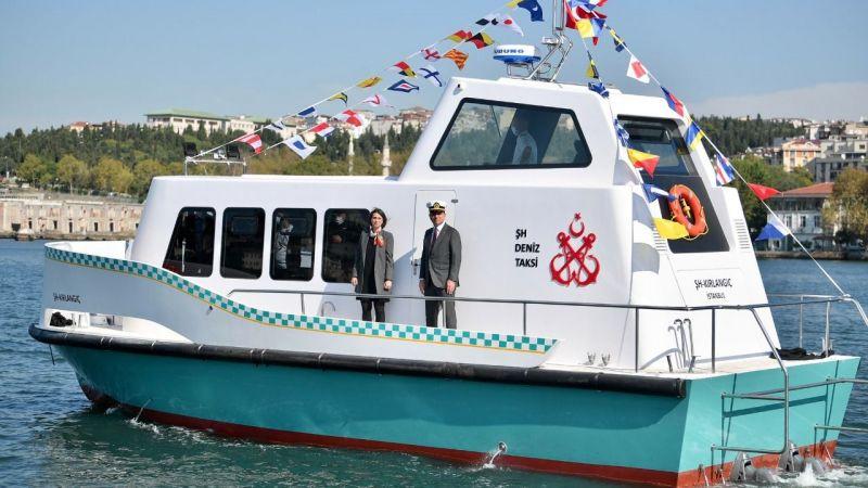 İstanbul'da deniz taksi