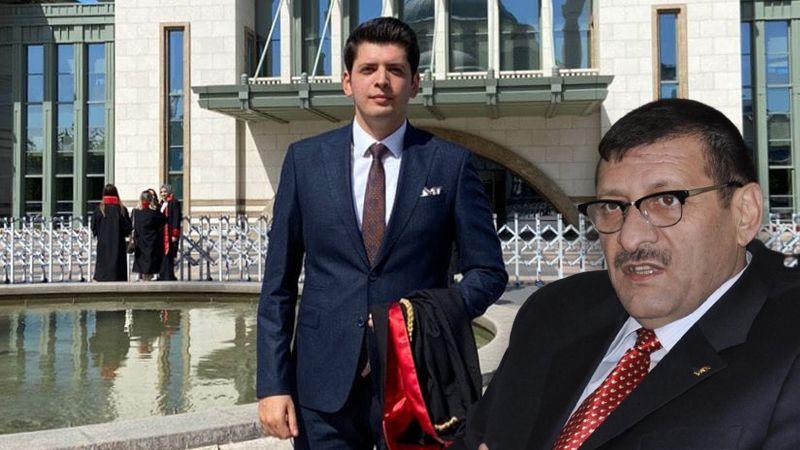 AKP'li Canşi'nin oğlu Antep'e savcı oldu