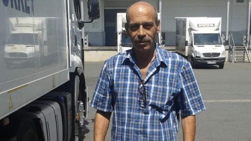 Uzun yol şoförü virüs kurbanı oldu