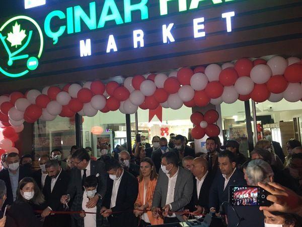 Çınar Halk Market açıldı