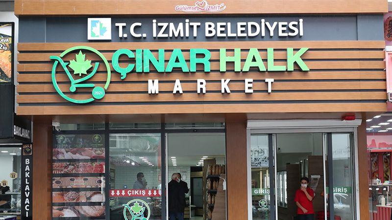 Çınar Halk Market'in açılışı bugün