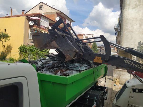 Her ay 150 ton atık cam toplanıyor