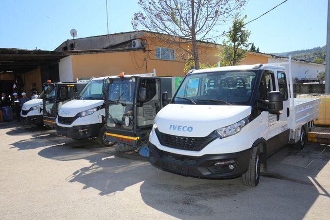 Karamürsel Belediyesi araç filosunu genişletti