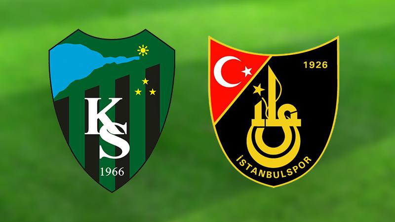 Kocaelispor-İstanbulspor maçı Cumartesi akşamı