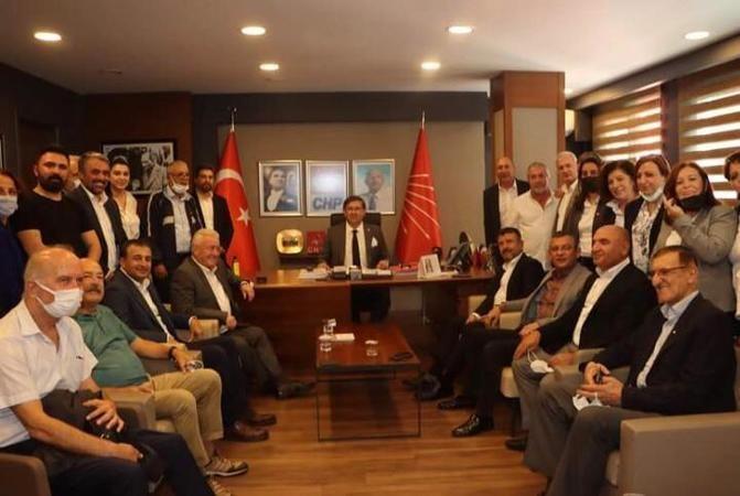 Özel ve Ağbaba'dan CHP'ye ziyaret