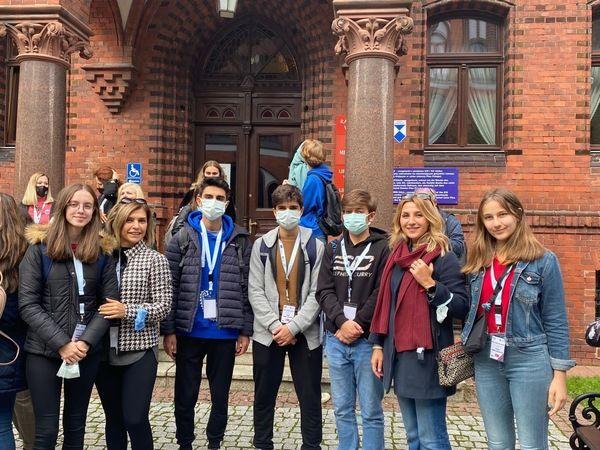 Şehit Özcan Kan Fen Lisesi, Polonya'da