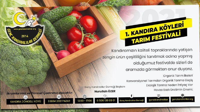 Kandıra'da tarım festivali yapılacak
