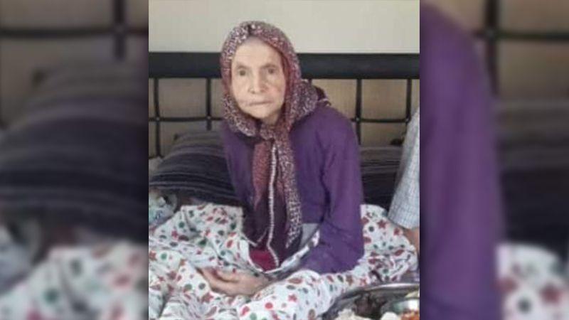 Virüse yenilen yaşlı kadın toprağa verildi