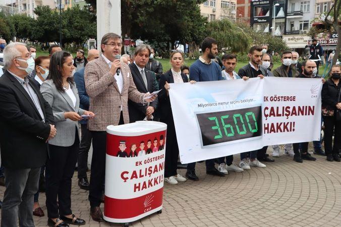 CHP, 3600 Ek Gösterge için toplandı