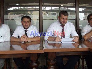Saadet Partisi Akyazı'daki Sorunları Dile Getirdi