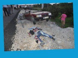 Trafik kazası raporu korkuttu!
