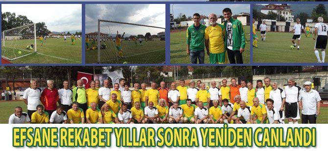 AS Akyazıspor Sezon Açılışında Efsaneler Sahaya İndi