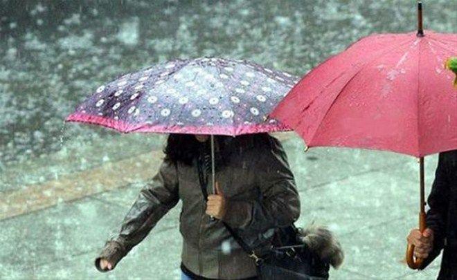 Cumartesi Gününe Kadar Yağmur Var