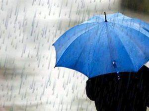 Şehirde beklenen yağış başladı!