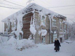 Dünyanın en soğuk köyü ve SEDAŞ