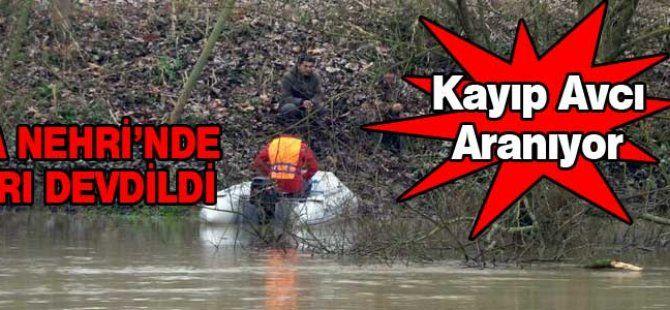 Kayıktan Sakarya Nehri'ne düştü. Arama çalışmaları sürüyor...