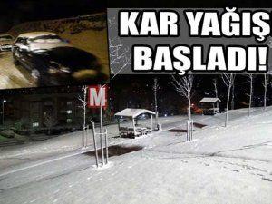 Kar şehre Kuzeyden giriş yaptı.Gözler valilikte