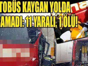 TEM'de can pazarı! 11 yaralı, 1 ölü...