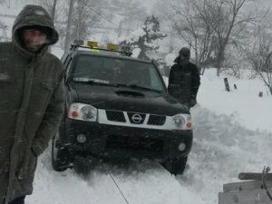 SEDAŞ ekipleri Ballıkaya'da mahsur kaldı