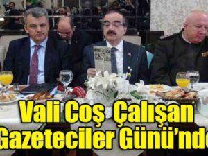 Vali Coş, gazetecilerle buluşmasında 2014'ü değerlendirdi