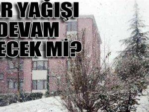 Haftaya karla başladık! Meteoroloji'den 'dikkat' mesajı
